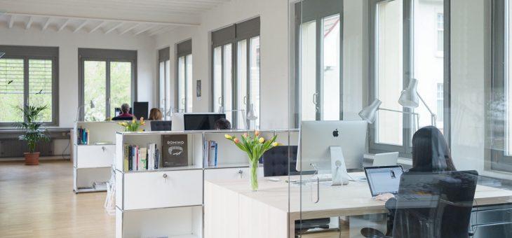 Freie Arbeitsplätze im Coworking Space Loreto