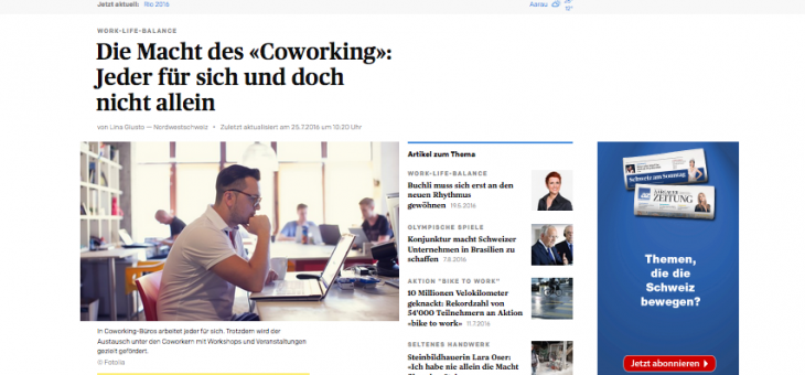 Coworking – interessante Alternative zum konventionellen Arbeitsplatz